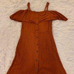 XS cut out shoulder dress